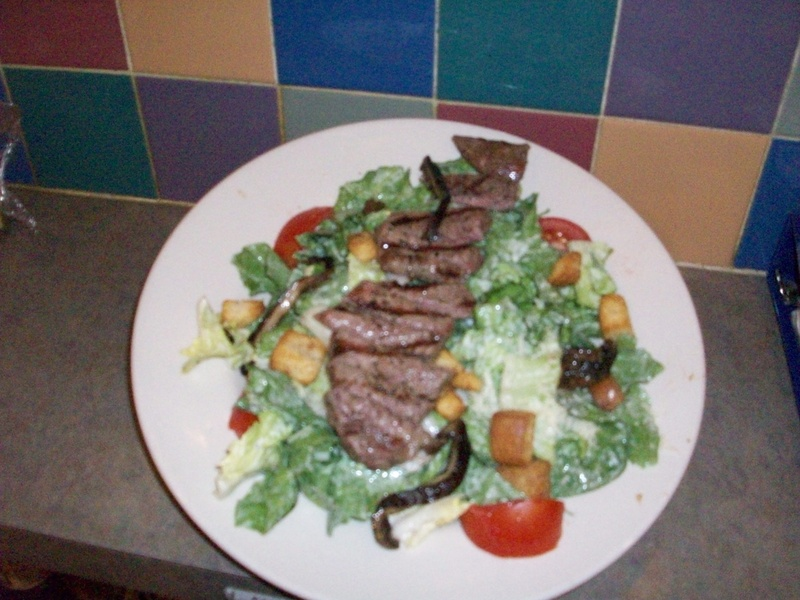 Capellini Salad w/ Steak