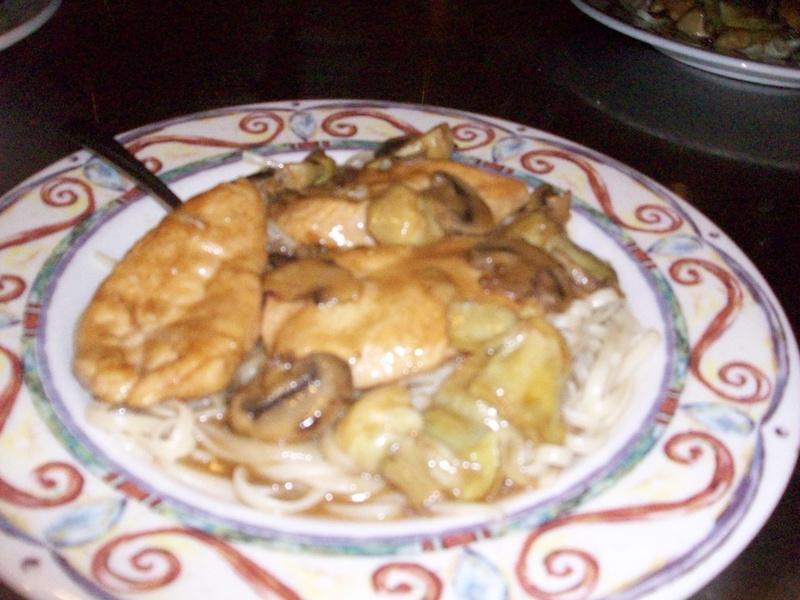 Chicken Maderia